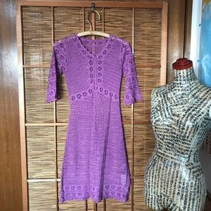 NWT crochet dress / swimsuit cover up